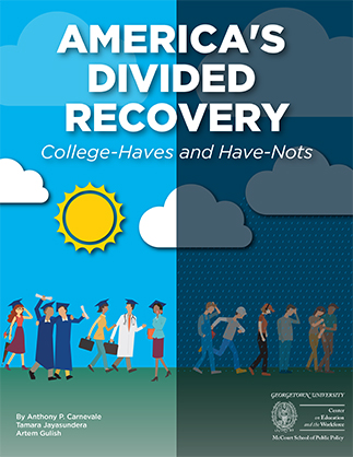 Jobs Recovery Deepens Economic and Political Divide between College Haves and Have Nots