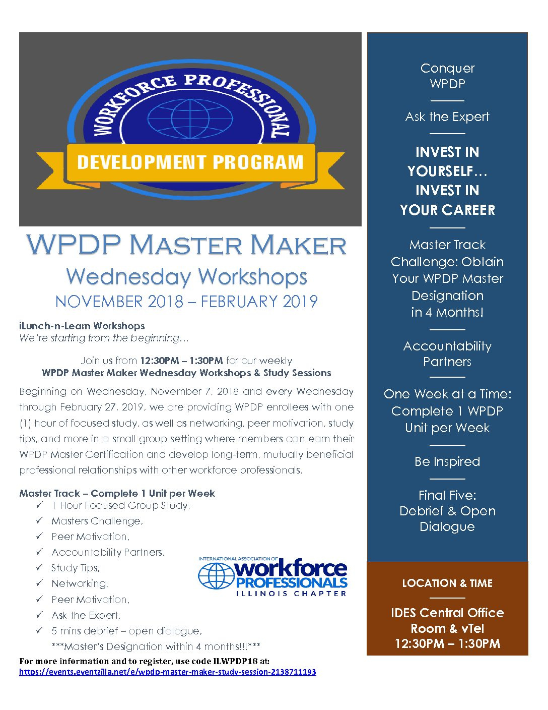 Illinois Chapter Helps Enrollees Complete Workforce Professional Development Program