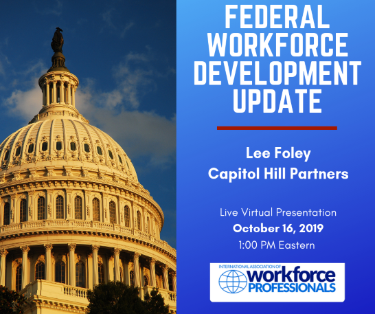 Workforce Development Issues at the Federal Level - Live Webinar