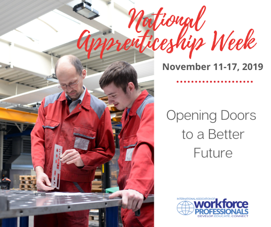 IAWP Participates in National Apprenticeship Week