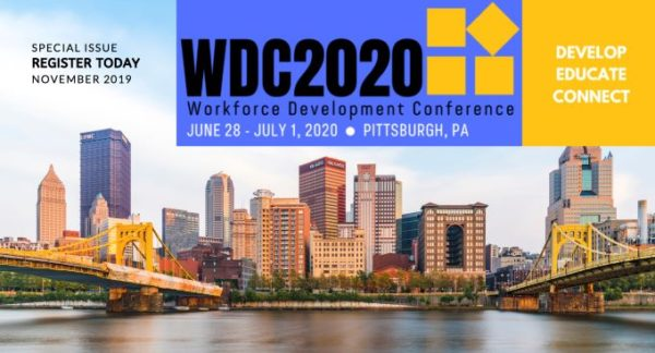 Register Today For 2020 Workforce Development Conference