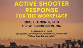 ACTIVE SHOOTER RESPONSE IN THE WORKPLACE