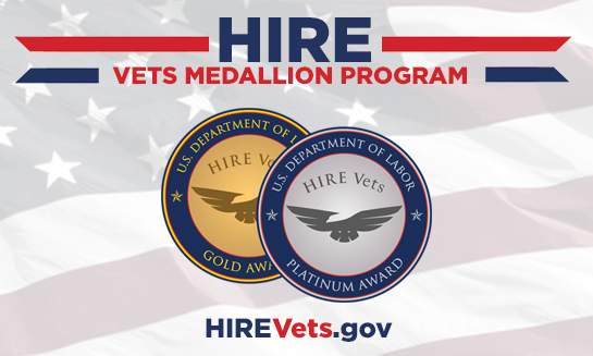 Registration is Open for the 2020 HIRE Vets Medallion Award Program