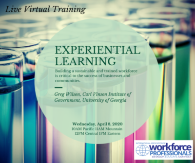 Live Webinar-Experiential Learning: How Can We Use it in Our Organization?